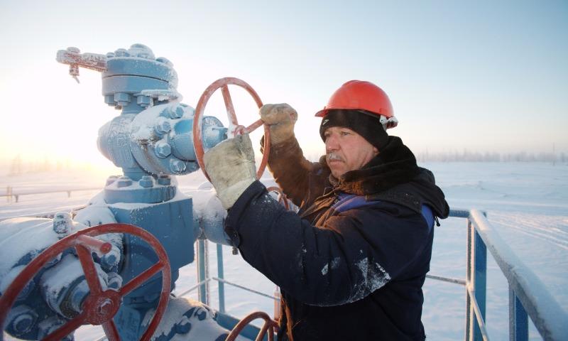 Россия увеличила в нынешнем году добычу газа и нефти