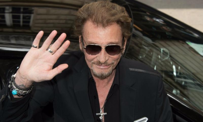 Рак легких забрал жизнь рок-звезды Франции Джонни Холлидея