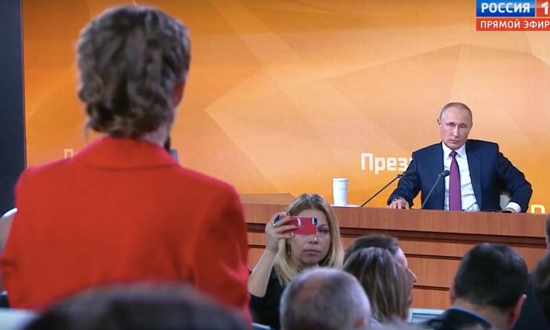 Какой вопрос задавала Собчак— Пресс-конференция В.Путина