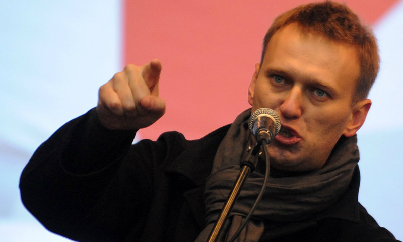 Поедающего пельмени Навального