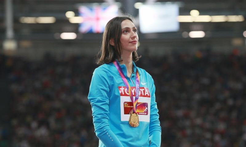Чемпионка мира-2017 по легкой атлетике в прыжках в высоту Мария Ласицкене.