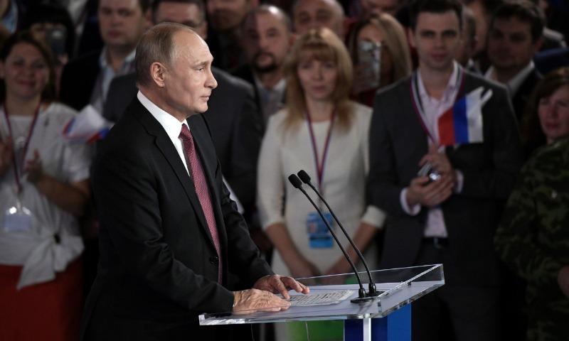 Путин обнародовал свои задачи как кандидата в президенты России