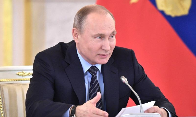 Путин рассказал о том, как играл