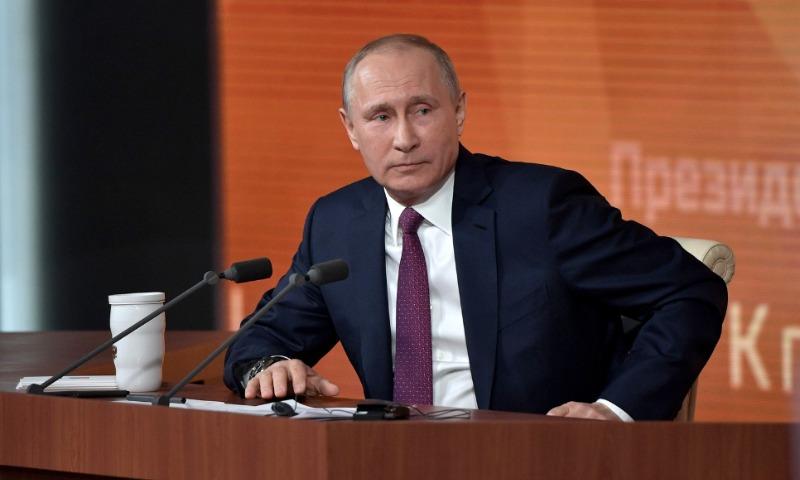 Треть россиян считает, что Путин на