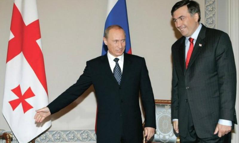 Саакашвили заявил, что Путин боится его