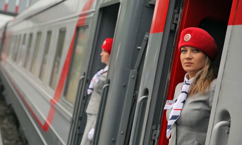 Все поезда РЖД начали движение в обход Украины