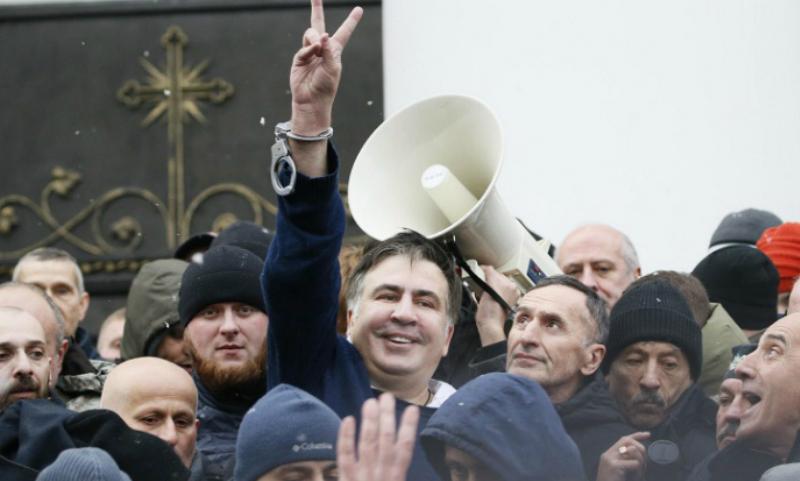 Потерялся: Михаила Саакашвили официально объявили в розыск на Украине