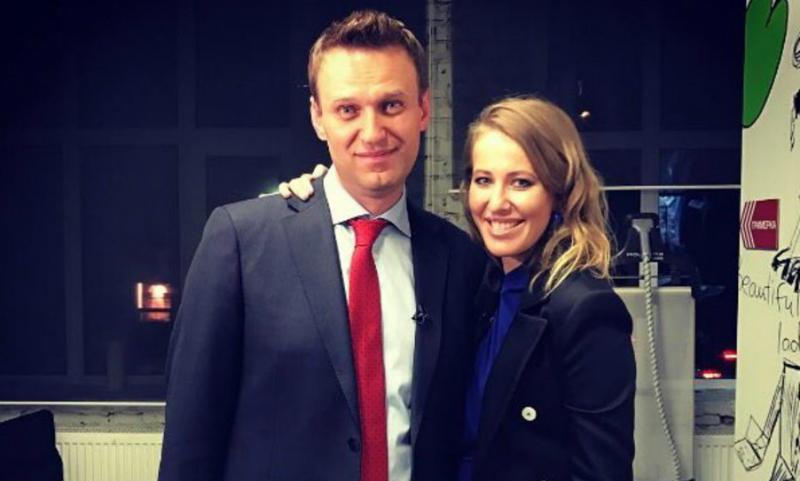 Собчак предложила Навальному отказаться от забастовки и стать её доверенным лицом