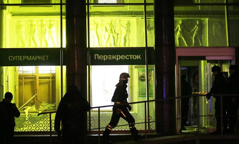 ИГИЛ взяло ответственность за взрыв в питерском супермаркете