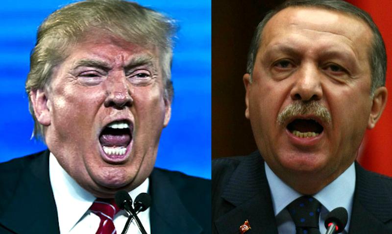 Отношения Трампа и Эрдогана рухнули