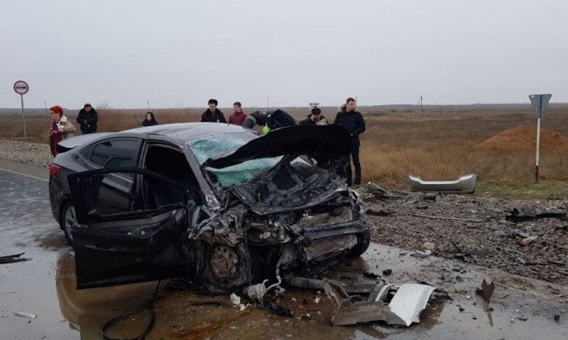 Шесть человек погибли вДТП вАстраханской области