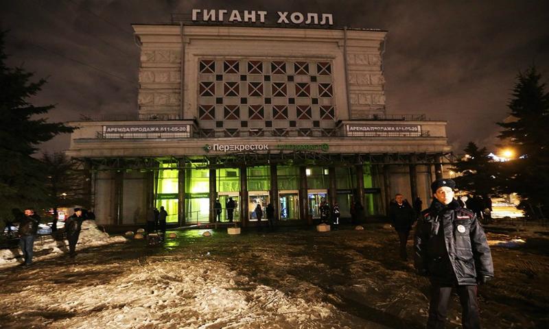 Самодельная бомба взорвалась в одном из супермаркетов Санкт-Петербурга: есть пострадавшие