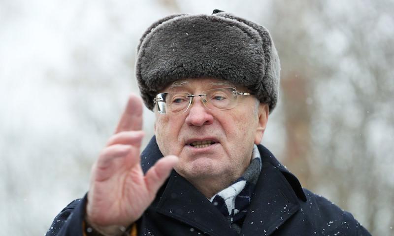 Жириновский пришел на акцию протеста Навального в Москве