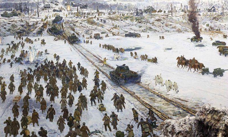 Календарь: 18 января - 75-летие прорыва блокады Ленинграда