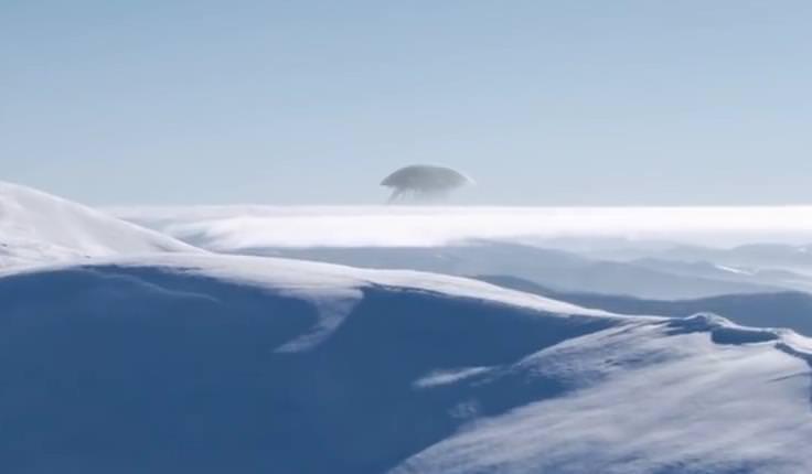 Похожий на гигантскую медузу НЛО обнаружили в горах Кавказа