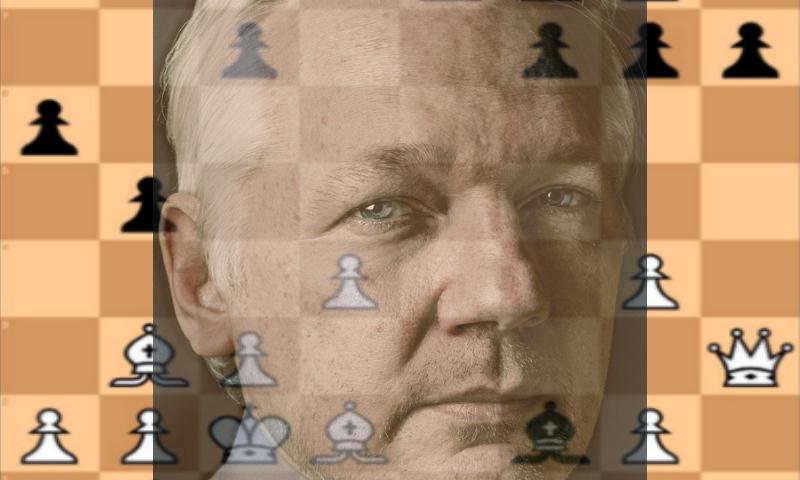 Плохо пахнущий Ассанж озадачил весь мир шахматным твитом