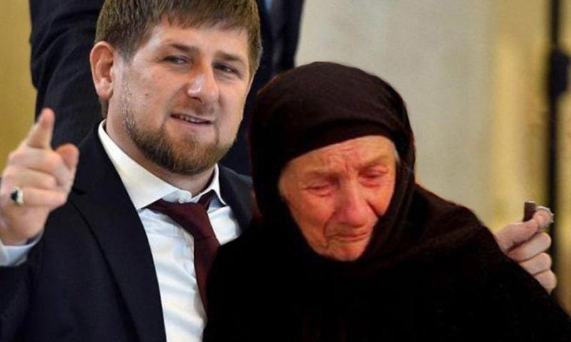 Рамзан Кадыров забрал домой 104-летнюю Мадину Алиеву