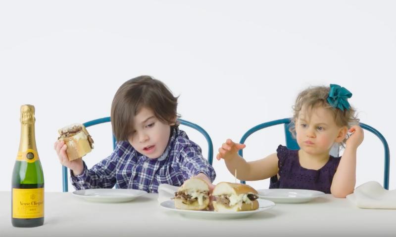 Элитная еда миллионеров вызвала у детей гримасы
