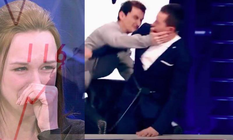 Муж Дианы Шурыгиной избил ее обидчика в телеэфире