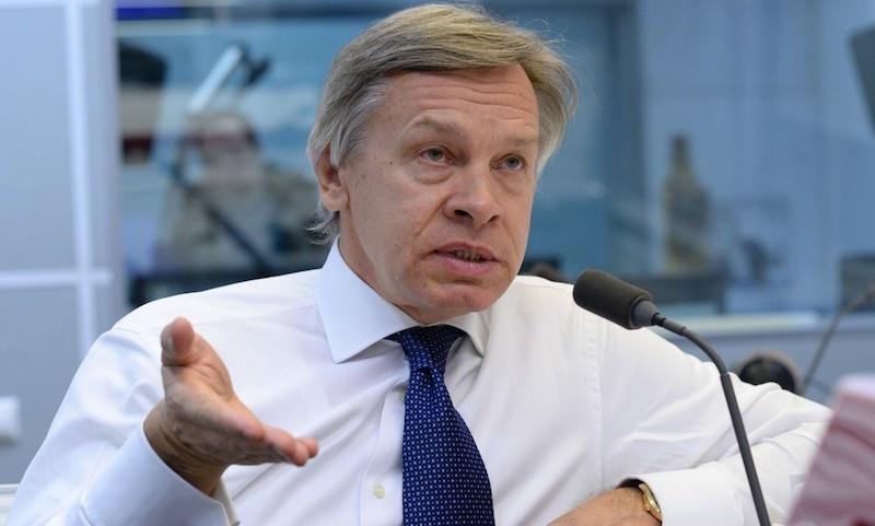 Пушков назвал главную цель санкций против России