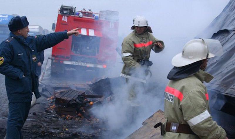 Более 50 человек погибли в горящем автобусе в Казахстане