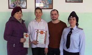 13-летний школьник из Приморья спас замерзающего на станции мужчину