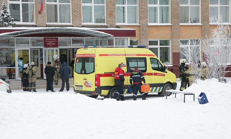 В Перми злоумышленники в масках напали на школьников