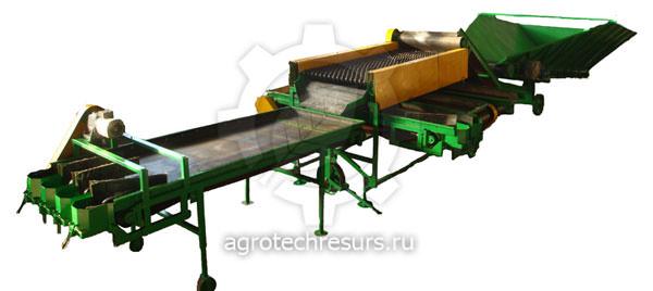 Техника для сортировки корнеплодов