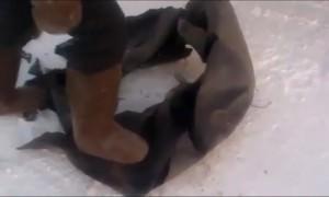 «Ломаются как сухари»: на  Ямале от мороза рассыпаются  шины автомобилей