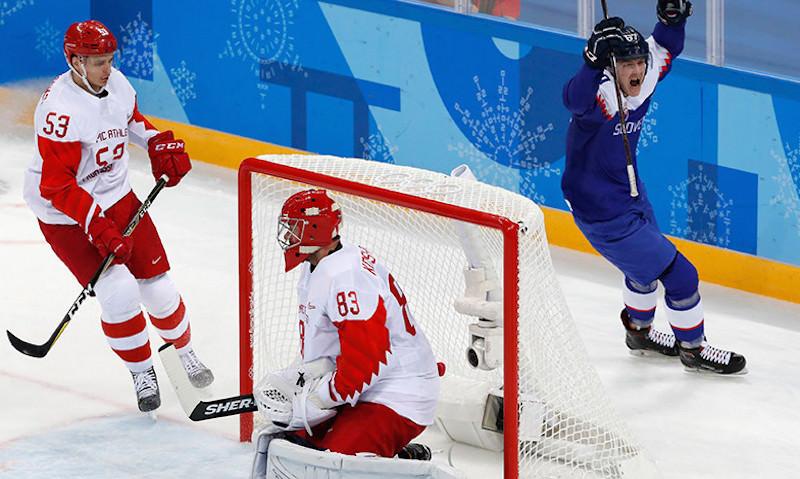 Хоккеисты России и США оскандалились на Олимпиаде
