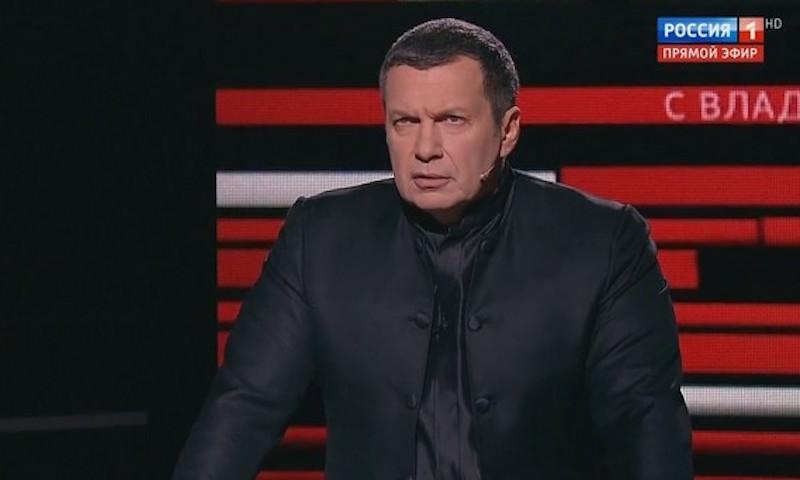 Соловьев выгнал из студии гостя за слова о сбитом в Сирии летчике