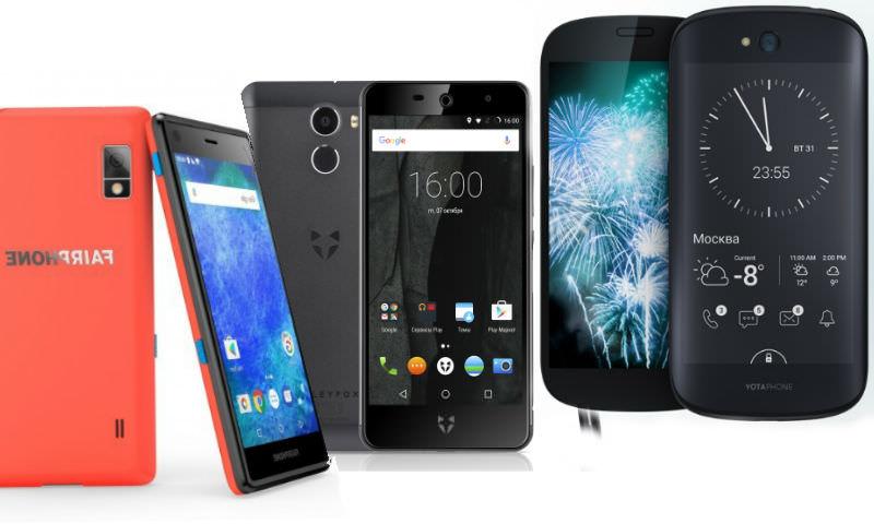 Шесть самых необычных смартфонов выбрали эксперты