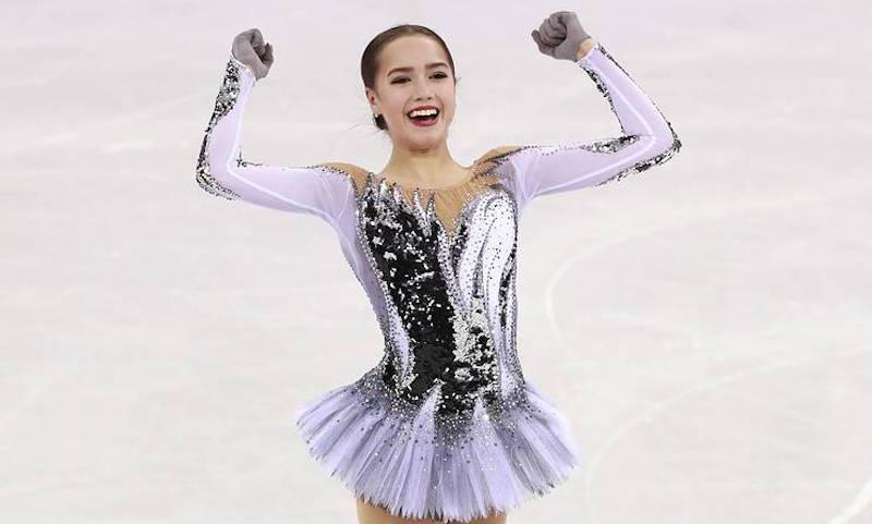 Фигуристка Загитова установила мирововой рекорд на ОИ-2018