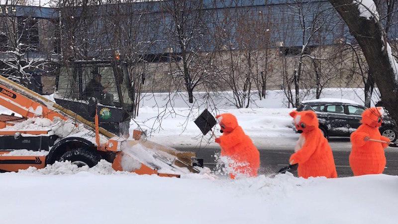 Правила очистка кровли от снега и наледи