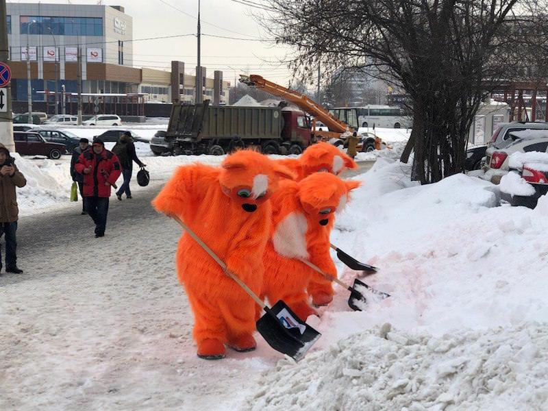 Требования охраны труда при очистке крыш от снега