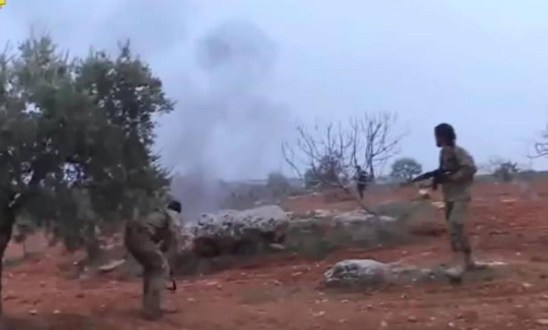 Последний бой сбитого пилота Су-25 с террористами был снят на видео