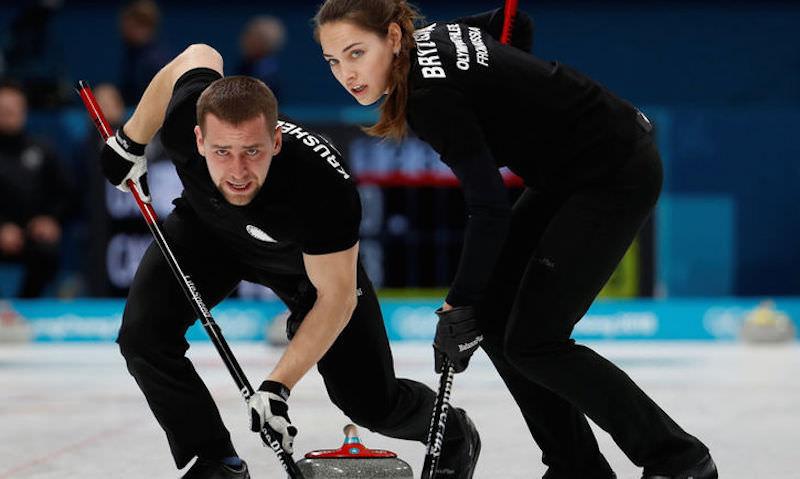 Первая в истории России олимпийская медаль по керлингу
