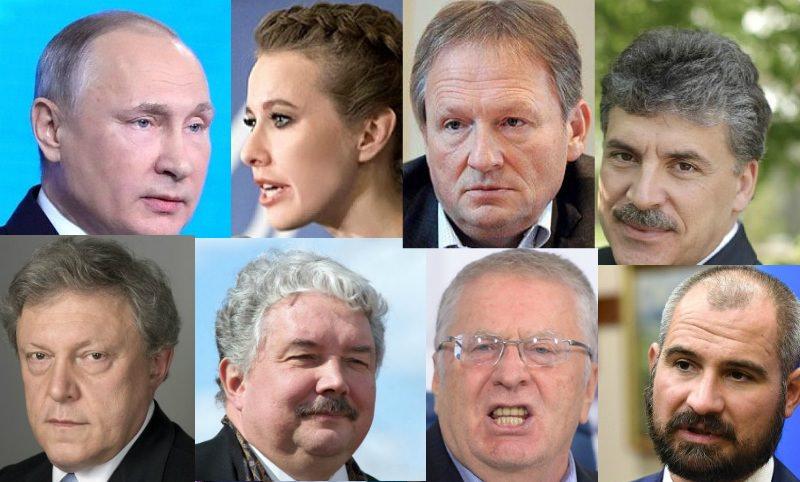 Кто самый богатый кандидат в президенты России?