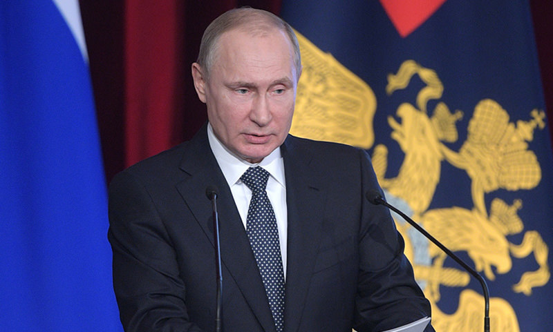 Путин раскритиковал работу МВД