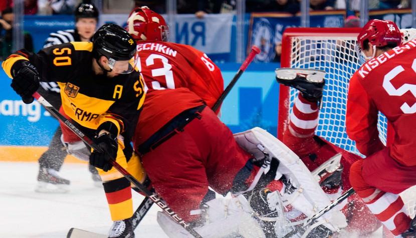 Российские хоккеисты впервые в истории выиграли Олимпиаду