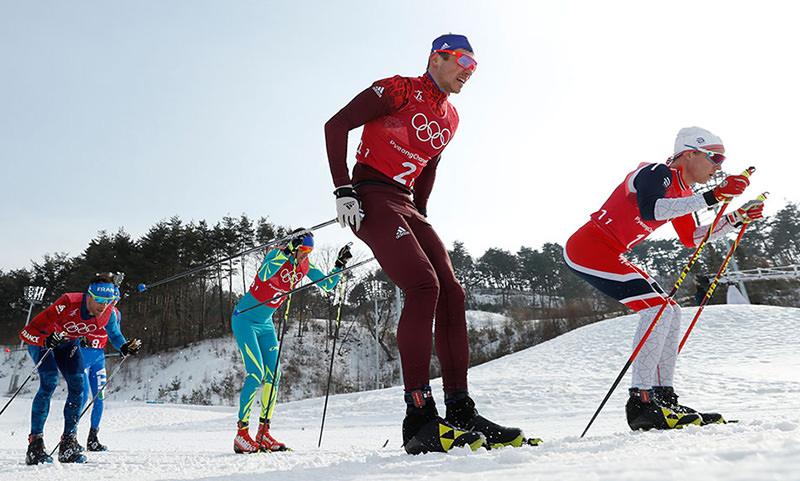 Российские лыжники взяли  «серебро» в эстафете  на Олимпийских играх