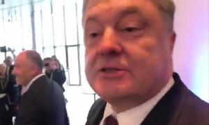 Порошенко заподозрили в пьянстве на конференции в Мюнхене