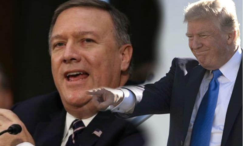 Трамп назначил новых глав Госдепартамента и ЦРУ