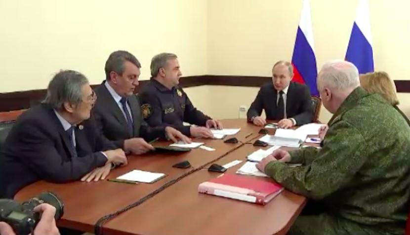 Тулеев попросил прощение лично у Путина за все, что случилось