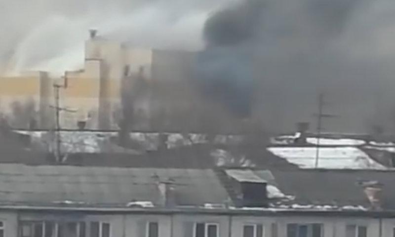 Пожар в торговом центре в Кемерово: погибли 4 ребёнка