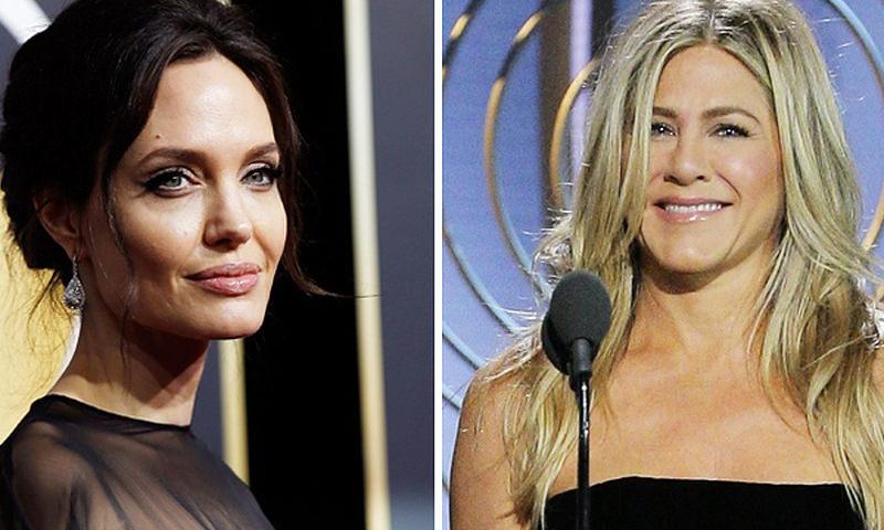 Анджелина Джоли пришла в ярость из-за поцелуя Питта и Энистон