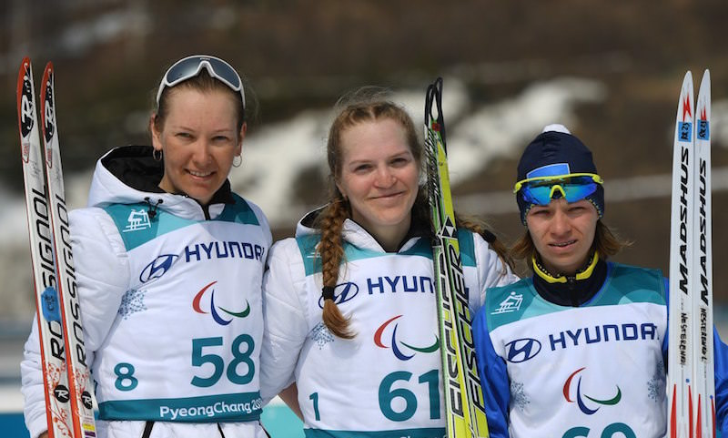 Российские девушки завоевали два золота на Паралимпиаде