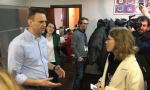 Навальный обвинил Собчак в выдвижении на выборы «за огромные деньги»