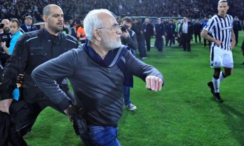 Российский бизнесмен напал с оружием на футбольного судью во время матча