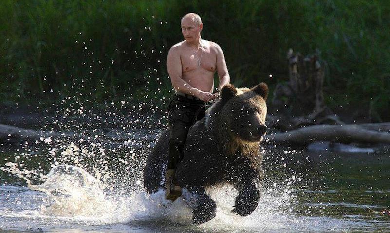 Путин освоем пресс-секретаре Пескове: оннесет время отвремени такую «пургу»